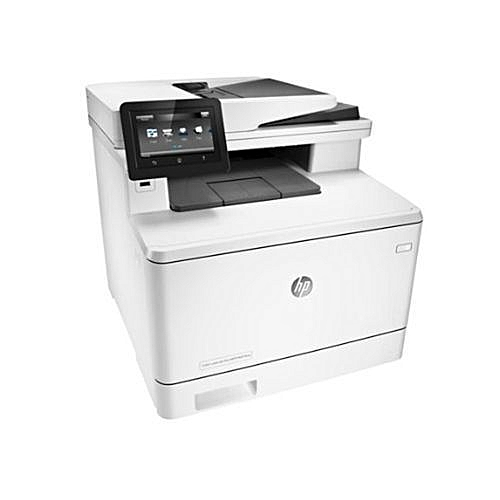 Color LaserJet Pro MFP M477fnw Printer - CF377A