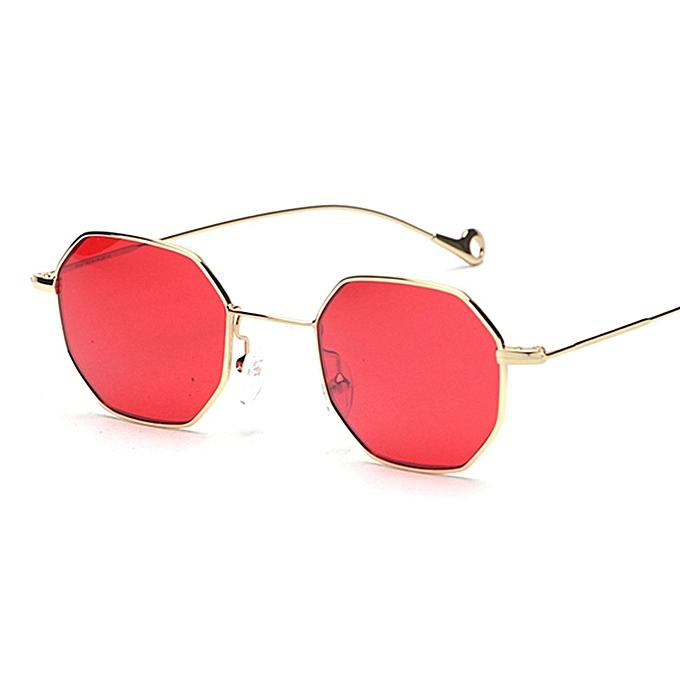 Peekaboo Tinted Sunglasses Women Small Frame Polygon 2018 Brand ...