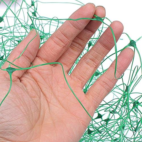2pcs Green Nylon Trellis Netting - Plant Support Climbing Grow Tent Garden 142*71''