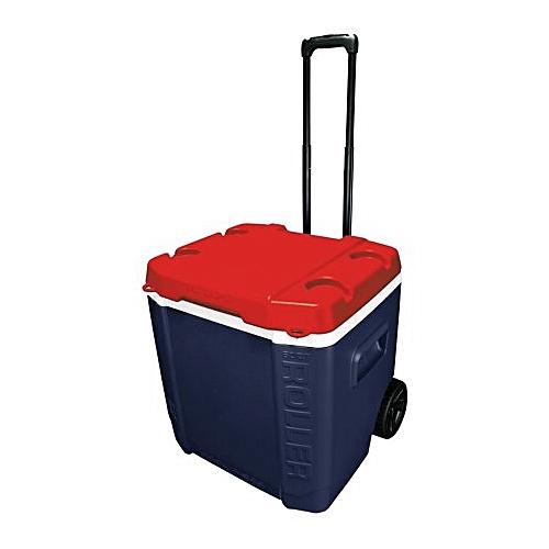 60-Quart Ice Cube Roller Cooler