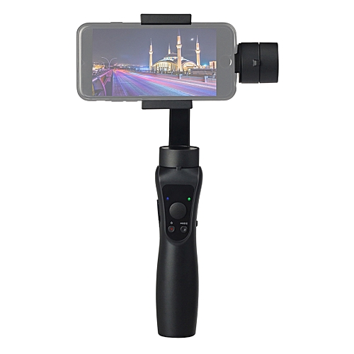 S5 3-Axis Stabilized Handheld Gimbal Stabilizer For Smartphones(Black)