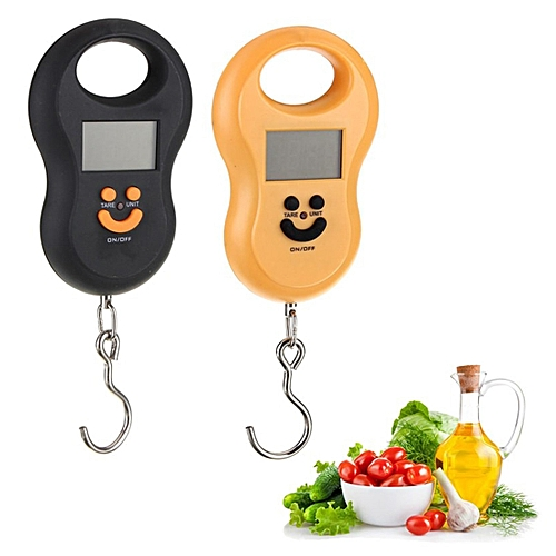 Electronic Weight Digital Scale Mini 50Kg/10g Portable LCD Display Luggage Fishing Hook Pocket Weighing Hanging Scale