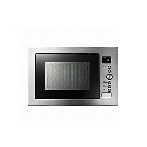 Kitchencraft Built In Microwave Oven 34 Litres Convection Grill Stainless Steel Extra Large Capacity