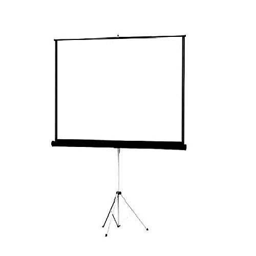 """Generic 96""""X96"""" Projector Screen With Tripod Stand"""
