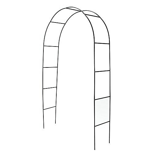 WHITE METAL ARCH 7.5 FT For Wedding Party Bridal Prom Garden Floral Decoration
