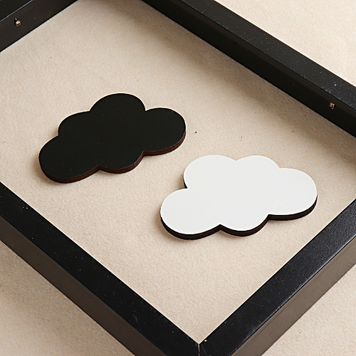 Cute Wooden Hanger Hook Wall Decorate Clothes Hooks For Children Kids Room Decor