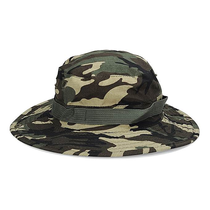 72d57bda68 Generic Bucket Hat Boonie Hunting Fishing Outdoor Wide Cap Brim Military  Green