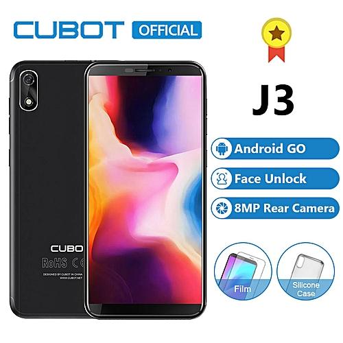 "J3 - 5.0"" Face ID (1GB, 16GB ROM) Quad-core 1.3GHz, (5MP + 5MP) 3G Phablet - Black"