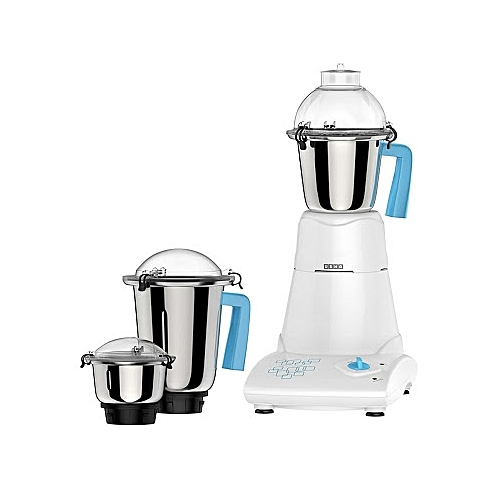 Usha Mixer Grinder- 750W(MG 3473) Three Stainless Steel Jars.