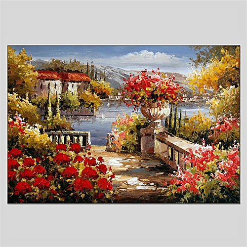 Hua Tuo Landscape Style Oil Painting HT-1170523