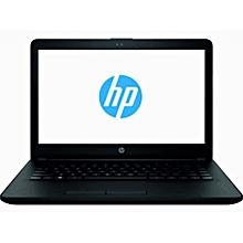 Notebook 14-bs079nia Intel Celeron N3060 1.6Ghz (4GB RAM 500GB HDD), Webcam, Bluetooth, No Windows Laptop - Black