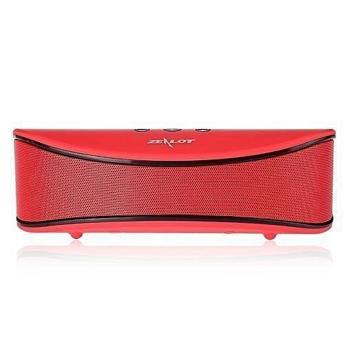S2 Multifunctional Wireless Bluetooth 4.0 Speaker TF Card AUX Input FM Radio Music Player-RED