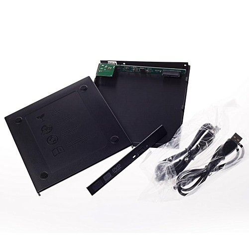USB2.0 Computer External Drive Record Black
