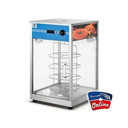 Display Pizza Showcase Warmer 4 Trays