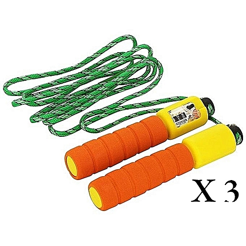 Skipping Rope With Counter - 3 Pieces