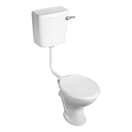 Toilet Seat And Tank Side Handle Flush