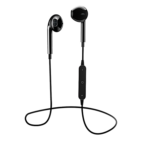 Wireless Bluetooth Earphones Stereo Bass HD Aural In-Ear Earphones-black