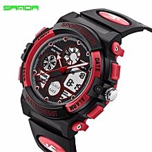 b826fed826a 2017 SANDA Brand Fashion Children Sports Watches LED Digital Quartz  Military Watch Boy Girl Student Multifunctional