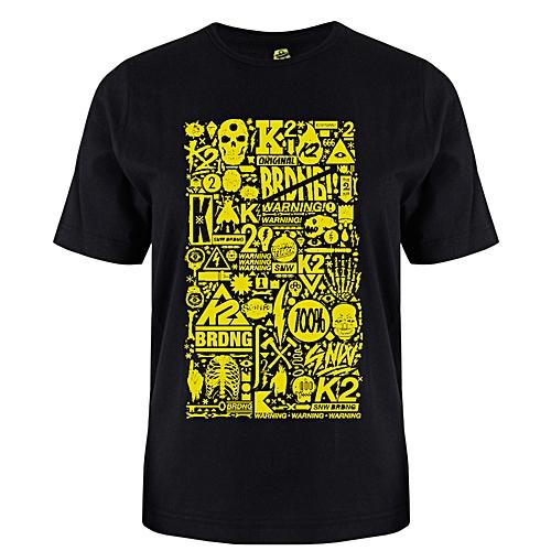 Warning Unisex Print T-Shirt