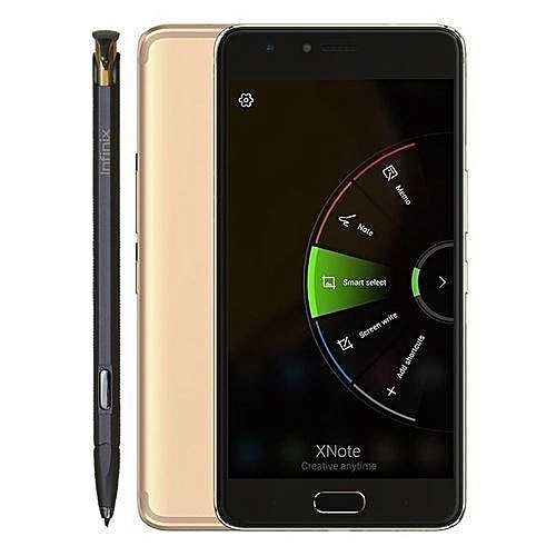 "Note 4 Pro (X571) 5.7"" 3GBRAM + 32GB ROM With X-pen - Gold"