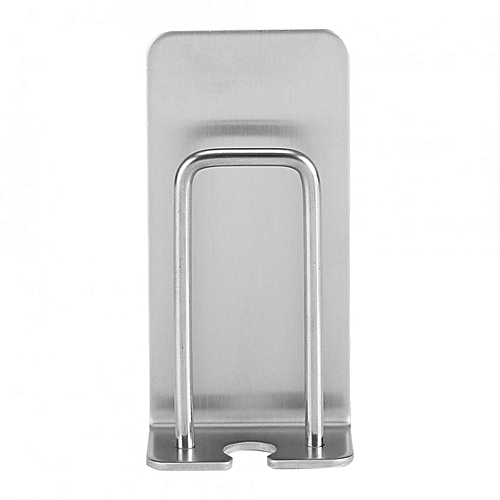 【clearance Sale+ready Stock】2Pcs Bathroom Stainless Steel Toothbrush Holder Water Cup Rack Wall Mount