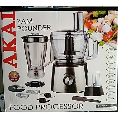 FOOD PROCESSOR AND YAM POUNDER