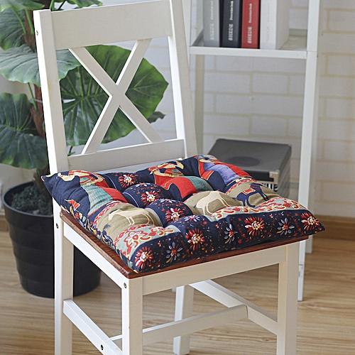 40 X 40cm Seat Cushion Buttocks Chair Cushion Linen Outdoor Square Cotton Seat Pad Decoration