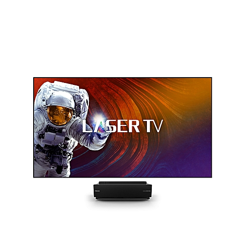 100 Laser 4 K UHD, SUBWOOFER 110W, SCREEN PROJECTOR PURE NATURAL COLORS