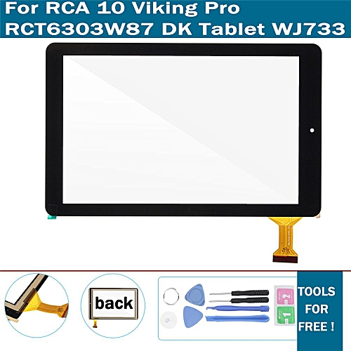 Touch Screen Digitizer Glass For RCA 10 Viking Pro RCT6303W87 DK Tablet WJ733