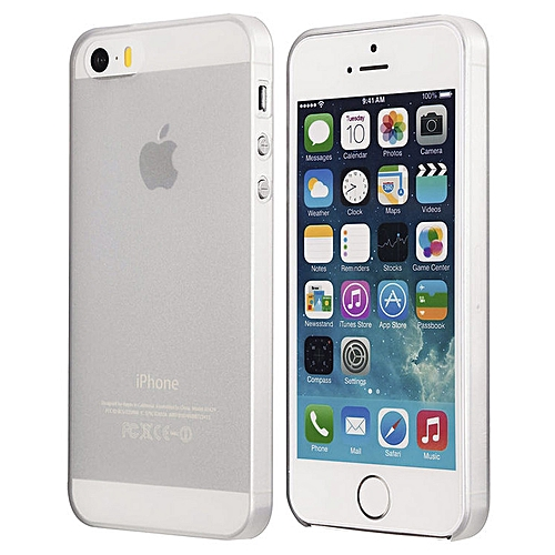 IPhone SE / IPhone 5s Frosted Transparent Cover Case