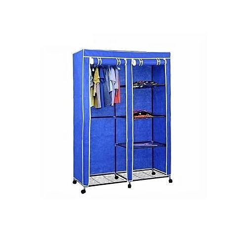 Mobile Wardrobe Closet WIth Wheels -