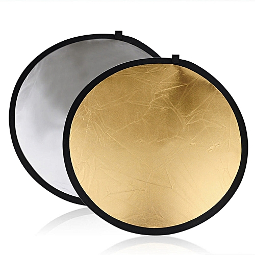 Golden / Sliver Round 5 In 1 Photography Studio Light Mulit Collapsible Disc Reflector