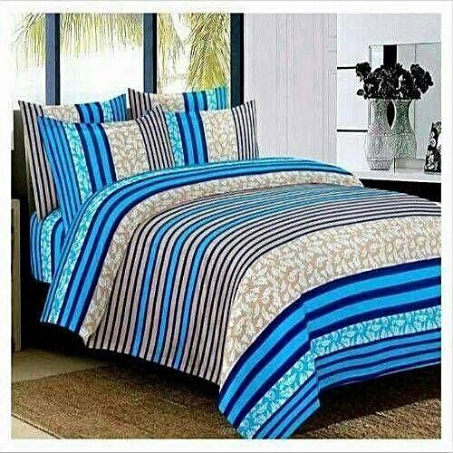 Klassiq Beddings Bedsheets With Four Pillow Cases