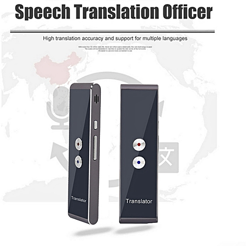 Portable Smart Voice Speech Translator Two-Way Real Time Multi-Language Translation For Learning Travelling Business Meeting WAAAA