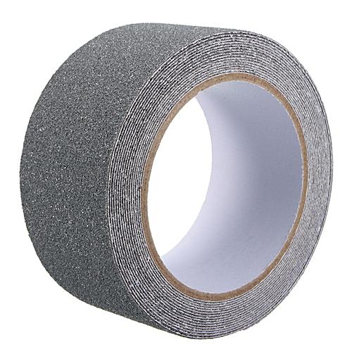 2pcs 5cm X 5m Floor Safety Non Skid Tape Roll Anti Slip Adhesive Stickers High Grip Grey