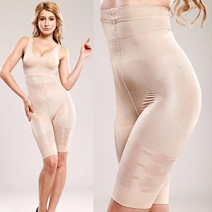 5dac06724f Women Full Body Waist Trainer Shaper Underbust Corset Shapewear Bodysuit  Flesh