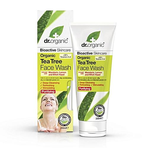 Organic Tea Tree Face Wash (Witch Hazel)