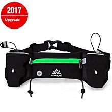 Lightweight Waist Bag Men Women Pack Outdoor Sports Cycling Fanny Pack Travel Running Sport Gym Bag Belt Bag(green) for sale  Nigeria