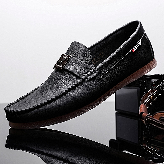 42f4863518 2019 New Men'S Italy Casual Comfortable Driving Shoes Slip-On Business  Office Flat Loafers(