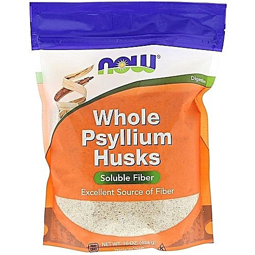 Whole Psyllium Husks (soluble Fiber) 16 Oz (454g)