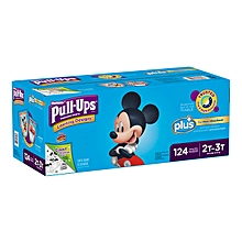 Huggies Pull-Ups Plus Training Pants Diapers for Boys Size 4T-5T