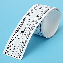 1m STICK ON/ADHESIVE/STICKY MEASURING TAPE FOR SEWING /WORKING TABLE/CABINET Etc, used for sale  Nigeria