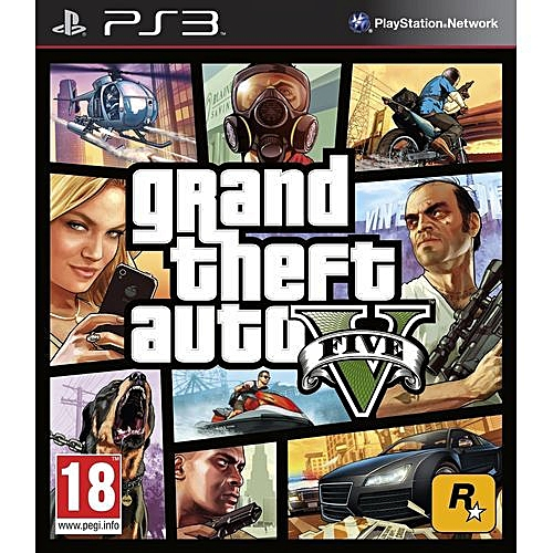 Ps3 Grand Theft Auto V GTA 5