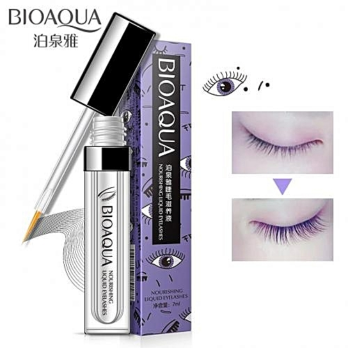 e0d385fe14a BioAQUA 7ml Enhancer Eyelash Serum Eyelash Growth Treatments Liquid Serum  Enhancer FEG Powerful Eye Lash Longer Thicker Makeup