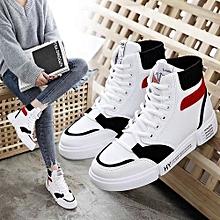 6b70dec242 2019 Women's High Top Fashion Boots Comfortable Casual Shoes