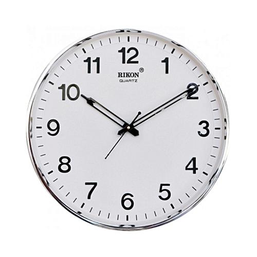 Quartz Wall Clock - White