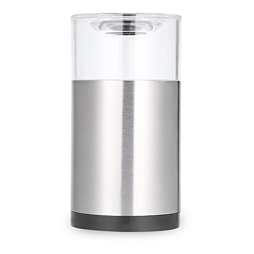 Portable Stainless Steel Manual Salt Pepper Mill Grinder Cooking Tool For Restaurant Home