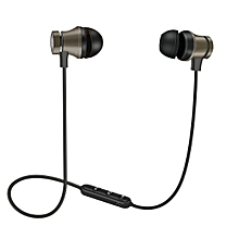 983b28d18ae CO XT11 Sports Bluetooth Earphones Magnetic Smart Stereo Headphones-Gun