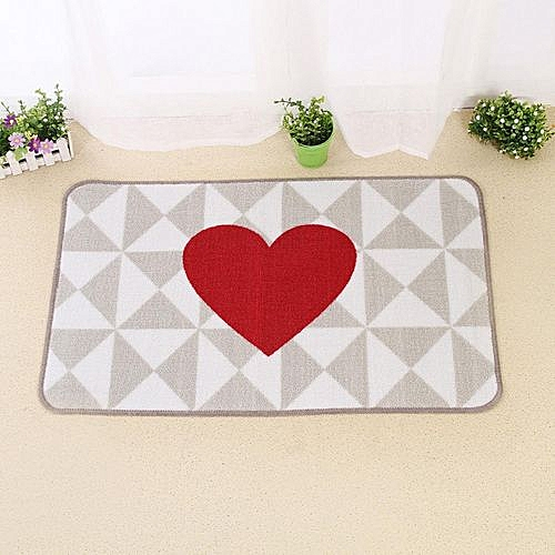 Upgrade Modern Super Soft Non-slip Kitchen Mats Door Mats Bedroom Carpets 50*80cm