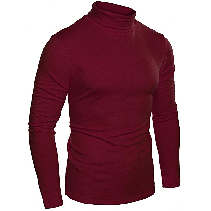 Buy Coofandy Men S Slim Fit Thermal Long Sleeve Turtleneck